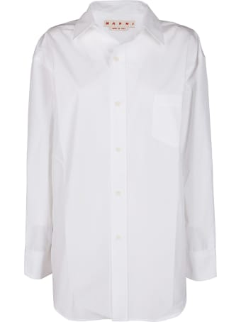 Marni White Cotton Shirt