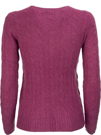 Ralph Lauren Cable Knit Wool And Cashmere Sweater