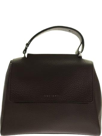 Orciani Sveva Soft Medium Leather Shoulder Bag