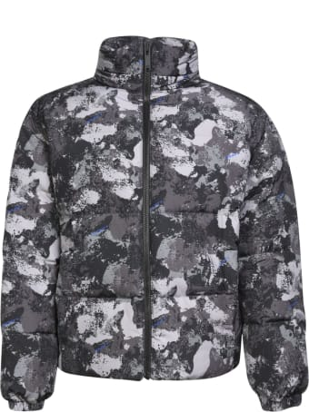 Marcelo Burlon County Camou Cut-down Jacket