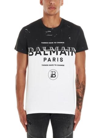 Balmain 'things Have To Change' T-shirt