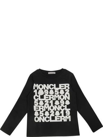 Moncler Printed Long Sleeve T-shirt