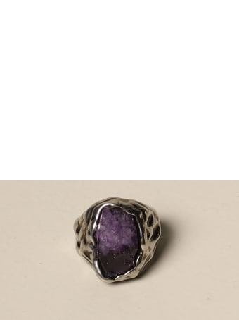 Dsquared2 Jewel Dsquared2 Ring With Amethyst