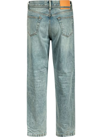 Acne Studios Straight Belt-tie Jeans