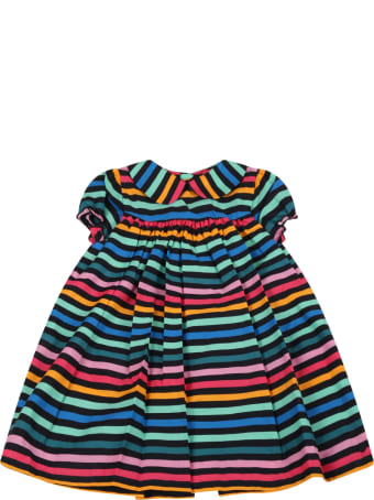 Sonia Rykiel Multicolor Dress For Babygirl