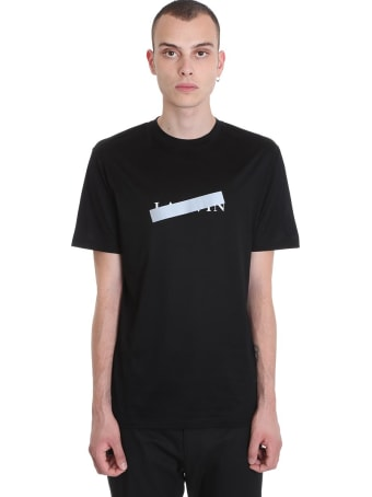 Lanvin T-shirt In Black Cotton