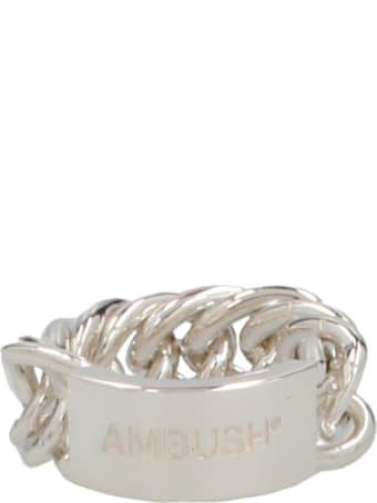 AMBUSH 'chain' Ring