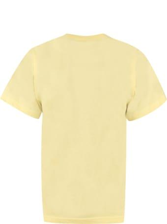 Lanvin Printed Cotton T-shirt