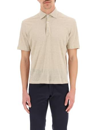 Caruso Linen Polo Shirt