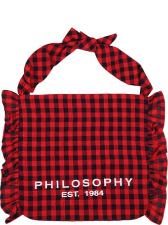 Philosophy di Lorenzo Serafini Multicolor Bag For Girl With Logo