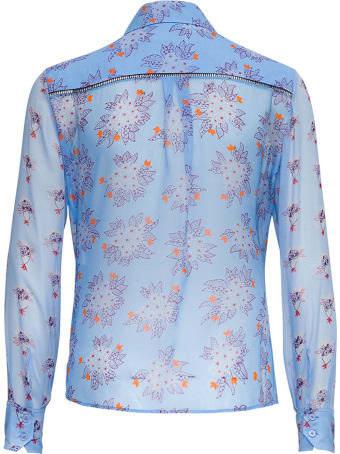 Chloé Shirt Flower Print On Silk Georgette
