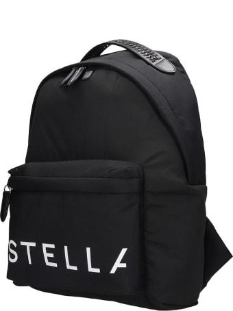 Stella McCartney Backpack In Black Tech/synthetic