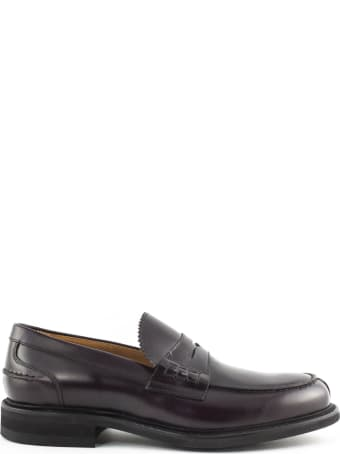 Berwick 1707 Bordeaux Leather Penny Loafer