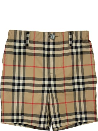 Burberry Sean - Vintage Check Cotton Poplin Tailored Shorts