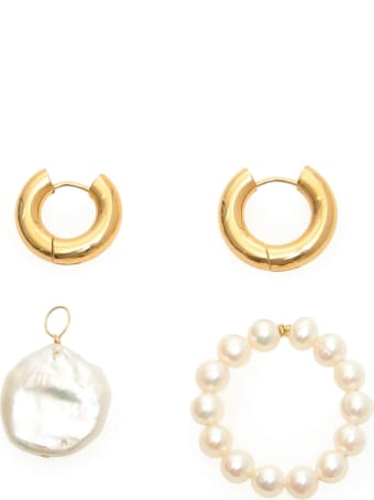Timeless Pearly Mismatched Pearl Earrings