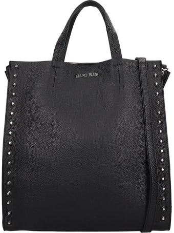 Marc Ellis Tracie Tote In Black Leather