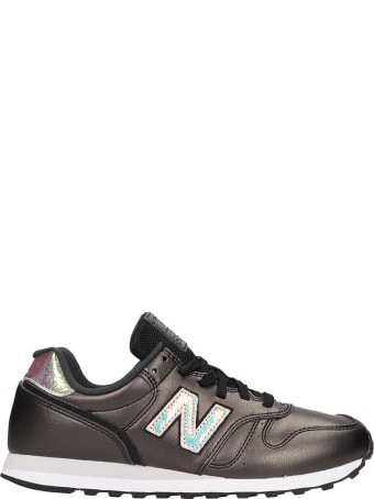 New Balance 373 Sneakers In Black Leather