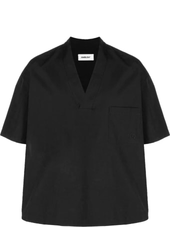 AMBUSH Black Cotton T-shirt