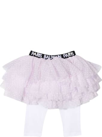 Balmain Pink Baby Skirt