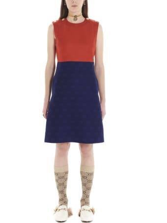 Gucci 'gg Diagonal' Dress