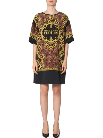Versace Jeans Couture Leo Baroque Print Tunic