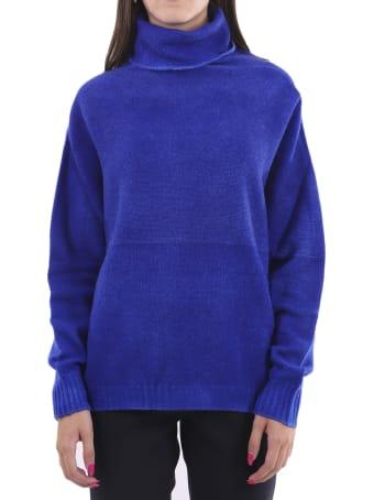 WLNS Blue Sweater