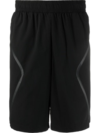 A-COLD-WALL Black Nylon Bermuda Shorts With Logo