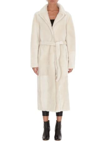 Yves Salomon Reversible Lamb Coat