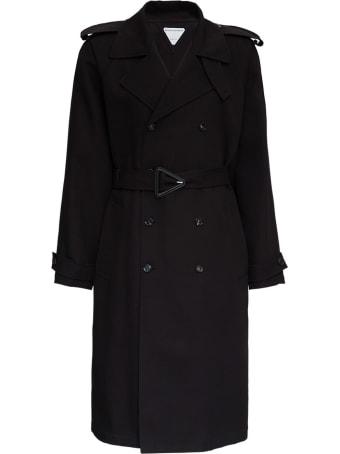 Bottega Veneta Double-breasted Trench Coat With Belt