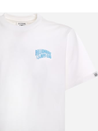 Billionaire Boys Club Cotton T-shirt With Contrasting Logo Print