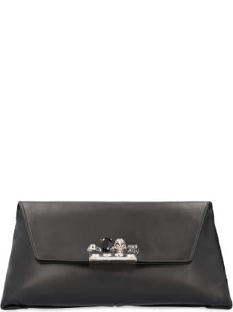 Alexander McQueen Skull Leather Clutch