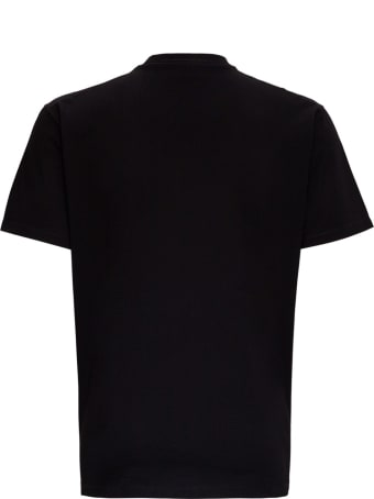 Dsquared2 Icon T-shirt In Black Jersey