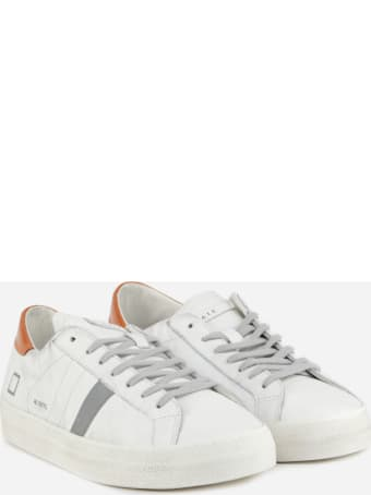 D.A.T.E. Hill Low Sneakers In Leather