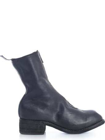 Guidi Mid Front Zip Boots