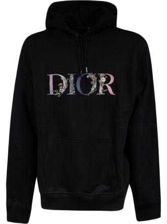 Christian Dior Floral Logo Hoodie