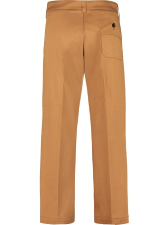 Department 5 Due High-rise Cotton Trousers