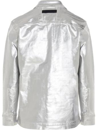 1017 ALYX 9SM 'foil Denim Shirt' Overshirt