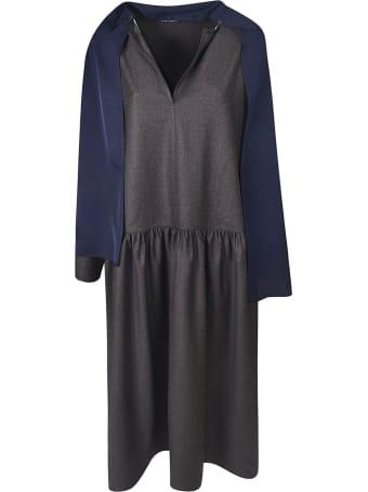 Sofie d'Hoore V-neck Scarfed Dress