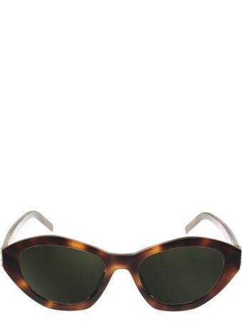 Saint Laurent Light Havana Sl M60 Sunglasses
