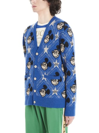 Gucci 'micky Mouse' Cardigan