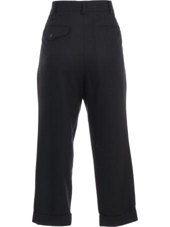 Comme des Garçons Comme des Garçons Pants Flannel W/lapel
