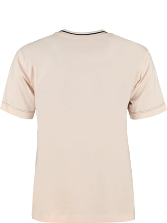 Fendi Cotton Crew-neck T-shirt
