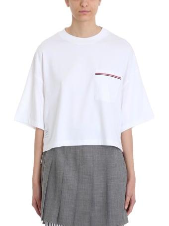 Thom Browne White Oversized T-shirt