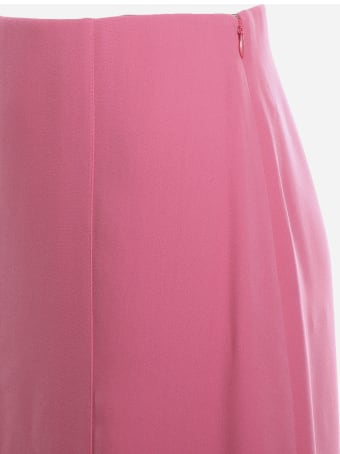 Valentino Slit Skirt Made Of Caddy Couture