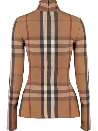 Burberry Long Sleeve Turtleneck