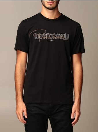 Roberto Cavalli T-shirt Just Cavalli T-shirt With Logo