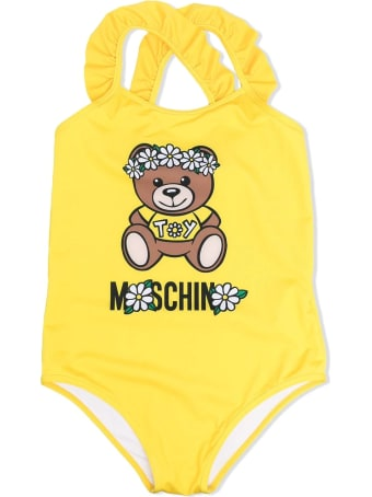 Moschino One Piece Swimsuit With Print