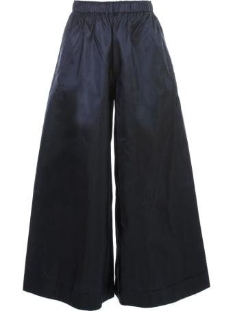 Daniela Gregis Silk Pants Elastic Waist