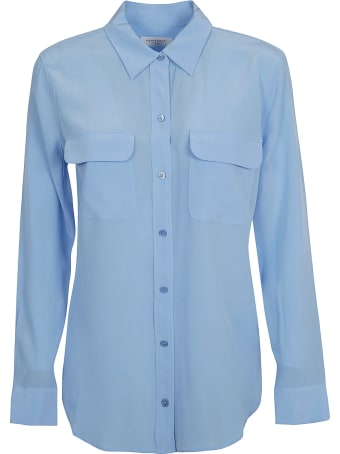 Equipment Double Front Pocket Shirt