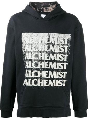 Alchemist Black Cotton/wool Hoodie